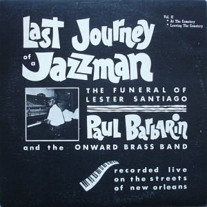 BARBARIN PAUL - last journey of a jazzman vol. II-signed - 33T