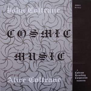 coltrane john cosmic music-coltrane records orig.