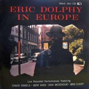 DOLPHY ERIC in europe-danish mono orig.