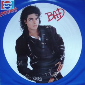 JACKSON MICHAEL - bad-picture disc-pepsi sleeve - 33T
