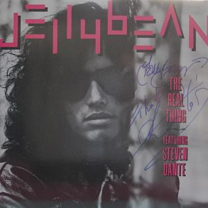 JELLYBEAN - the real thing-signed - Maxi x 1