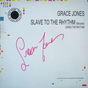 JONES GRACE - slave to the rhythm-signed - Maxi x 1