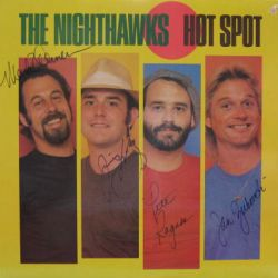 NIGHTHAWKS THE - hot spot-signed - 33T